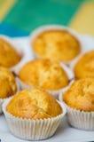 Eigengemaakte muffins Royalty-vrije Stock Afbeeldingen
