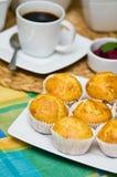 Eigengemaakte Muffins Stock Foto