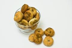 Eigengemaakte ongezuurde broodjes Stock Fotografie