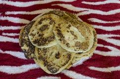 Eigengemaakte Pannekoeken Royalty-vrije Stock Fotografie