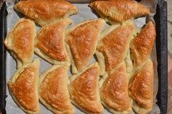 Eigengemaakte pastei Stock Foto's