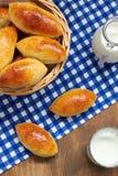 Eigengemaakte pasteien Stock Foto's