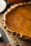Eigengemaakte Pompoenpastei voor Thanksigiving Stock Foto