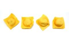 Eigengemaakte ravioli Stock Afbeeldingen