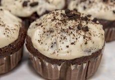 Eigengemaakte vers gebakken muffins royalty-vrije stock afbeelding