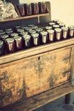 Eigengemaakte wilde aardbei Bulgaarse jam Royalty-vrije Stock Foto's