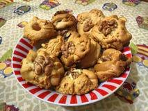Eigengemaakte zoete koekjes royalty-vrije stock afbeeldingen