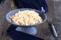 Eigengemaakte Zuurkool met wortelen Royalty-vrije Stock Afbeelding