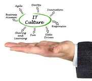 Eigenschaften von IT-Kultur lizenzfreie stockfotos