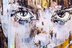 Eigentijds Istanboel Art Show 2016 Royalty-vrije Stock Afbeelding