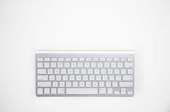 Eigentijds licht toetsenbord van PC Stock Foto's