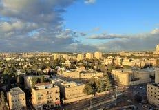 Eigentijds Westelijk Jeruzalem stock fotografie