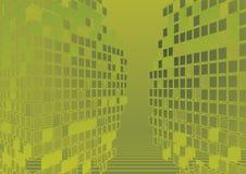 Eigentijdse abstracte achtergrond vector illustratie