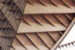 Eigentijdse Architecturale Voorgevel royalty-vrije stock afbeeldingen