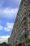 Eigentijdse architectuurstijl van Barcelona, Spanje royalty-vrije stock foto