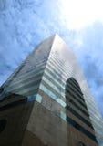 Eigentijdse commerciële gebouwen in Hongkong stock afbeeldingen
