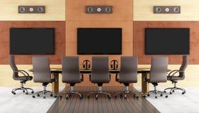 Eigentijdse conferentieruimte Stock Afbeelding