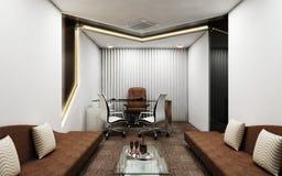 Eigentijdse Directeur Room royalty-vrije illustratie