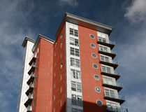 Eigentijdse flats Royalty-vrije Stock Foto