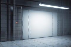 Eigentijdse garagekant stock illustratie