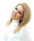 Eigentijdse jonge vrouw stock foto