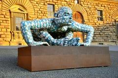 Eigentijdse kunst in Florence, Italië Royalty-vrije Stock Foto's