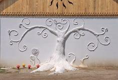 Eigentijdse kunst op Ozora-Festival, Stock Foto