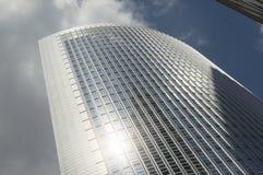 Eigentijdse moderne architectuursamenstelling Royalty-vrije Stock Afbeelding