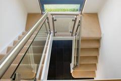 Eigentijdse trap Stock Fotografie