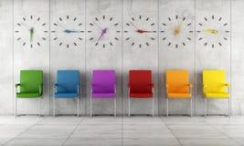 Eigentijdse wachtkamer Stock Foto's