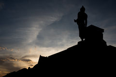 Eigentliche Bedeutung von Buddha Stockfotos