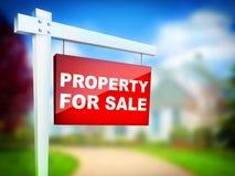 Eigentum für Verkauf Lizenzfreie Stockbilder