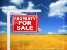 Eigentum für Verkauf Stockfotos