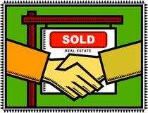 Eigentum verkauft! Lizenzfreie Stockfotografie