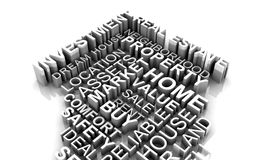 Eigentums-Investitions-Konzept lizenzfreie stockfotos