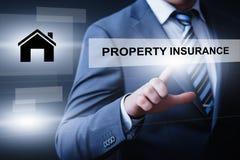 Eigentums-Vermögensverwaltung Real Estate vermarktet Internet-Geschäfts-Technologie-Konzept stockfotos