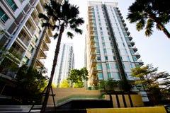 Eigentumswohnung hoch Stockbilder