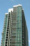 Eigentumswohnung mit Gestell Stockbilder