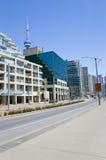 Eigentumswohnung und KN-Kontrollturm Stockfoto
