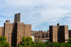 Eigentumswohnungs-Gebäude in New York, USA Lizenzfreie Stockfotografie