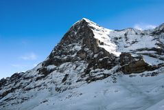 The Eiger Royalty Free Stock Images