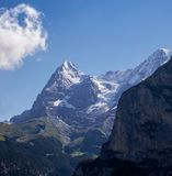 Eiger and Mönch Stock Photos