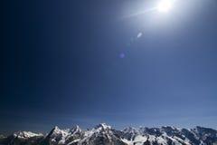 Eiger, Mönch u. Jungfrau Stockfotografie