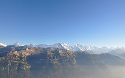 Eiger-Monch-Jungfrau Foto de Stock Royalty Free