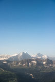 Eiger, Monch and Jungfrau Royalty Free Stock Photo