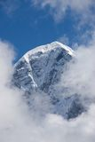 Eiger mountain. In the clouds Stock Images