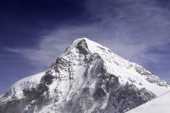 Eiger Mountain. In Bern Alps (Switzerland royalty free stock photo