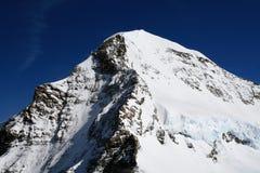 Eiger Mountain in Bern Alps (Switzerland) Stock Image