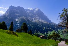 Eiger mountain - Grindelwald Royalty Free Stock Photography