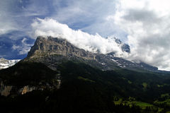 The Eiger Royalty Free Stock Photography